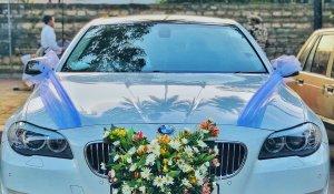 BMW 520d 5 series white colour car - pic.1