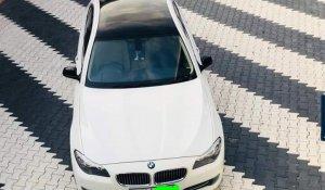 BMW 520d 5 series white colour-pic-6