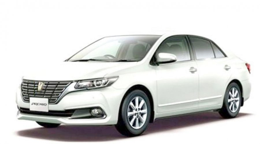 Premium Sedan Cars (Toyota Premio or Toyota Allion or Toyota Corolla)