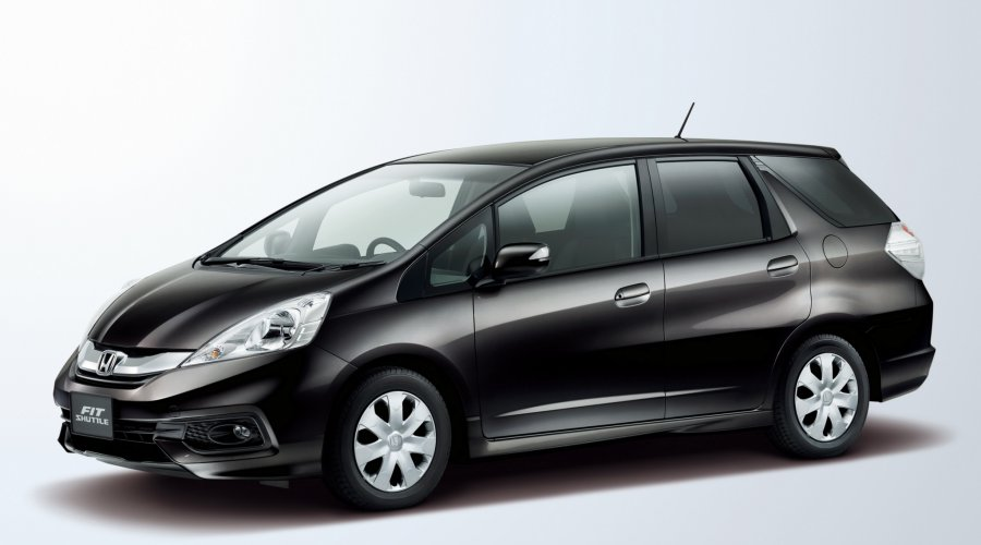 Extended HatchBack Cars (Honda Fit Shuttle)